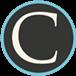 Medium Callan icon blue black and white